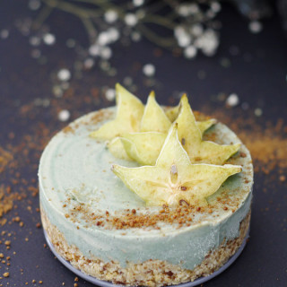 Raw Beach Cheesecake