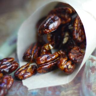 Maple Candied Pecans