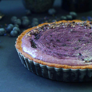 Blueberry Custard Pie