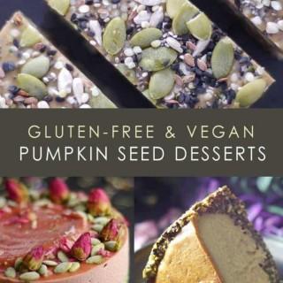 Gluten-Free & Vegan Pumpkin Seed Desserts
