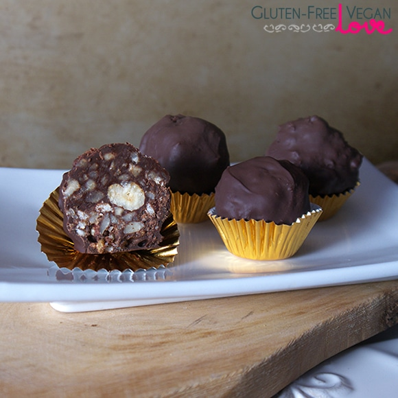 Gluten-Free Vegan Chocolate Hazelnut Candy