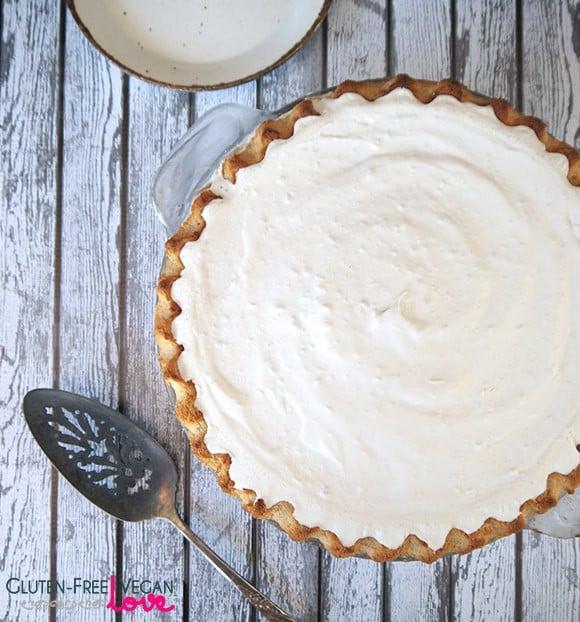 Gluten-Free Vegan Nutella Cream Pie Recipe {also Paleo & Refined Sugar-Free}