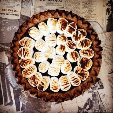 Gluten-Free Vegan S'mores Pie