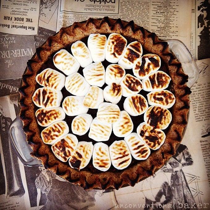 Gluten-Free Vegan S'mores Pie Recipe