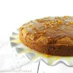 Orange Butter Cake with Warm Orange Sauce {Gluten-Free, Vegan, Refined Sugar-Free}