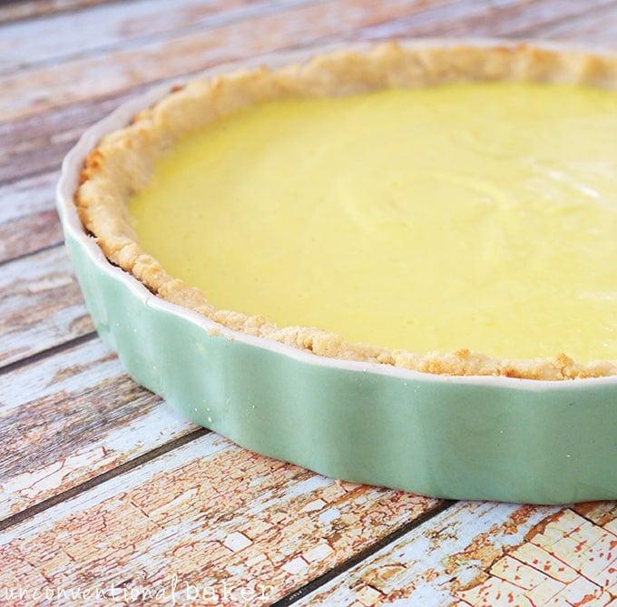 Lemon tart recipe quick easy