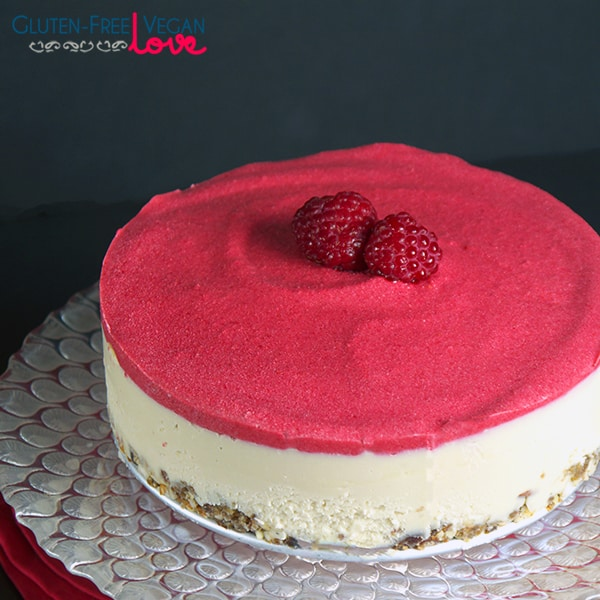 Raw Vegan White Chocolate And Raspberry Cheesecake Gluten