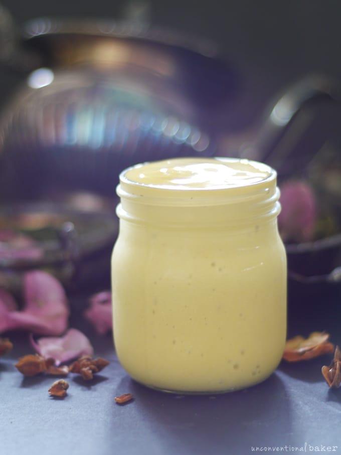 Raw Mango Lassi (Free from dairy & refined sugar)