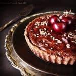 Chocolate Black Cherry Tart