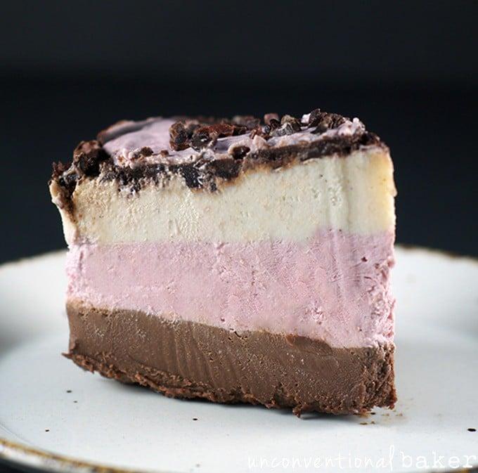 Raw Vegan Neapolitan Cake {Gluten-Free, Paleo, Refined Sugar-Free}