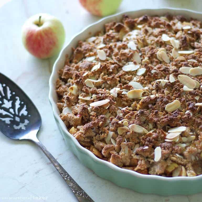 vegan gluten-free apple crisp recipe