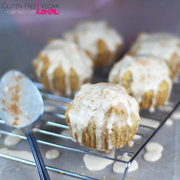 Gluten-Free Vegan Eggnog Muffins Recipe {Refined Sugar-Free}