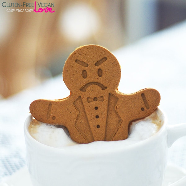 Gluten-Free Vegan Gingerbread Men Cookies Recipe l ...