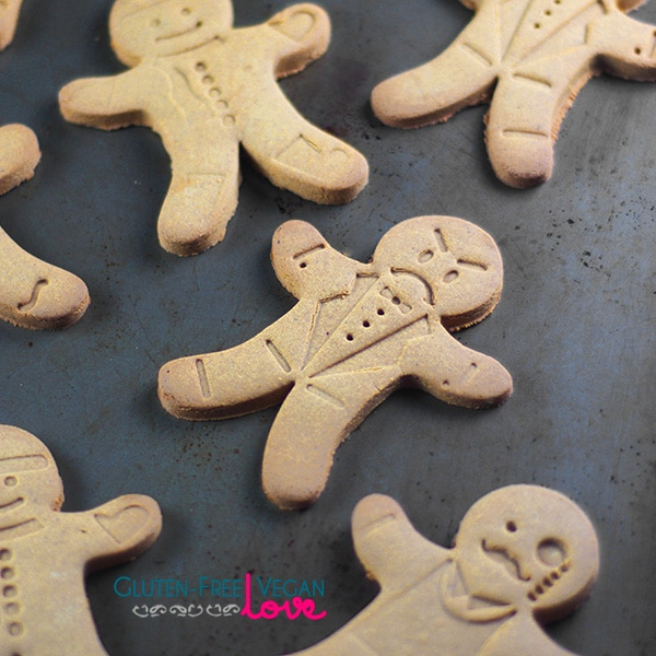 Gluten-Free Vegan Gingerbread Men Cookies Recipe l Unconventional ...