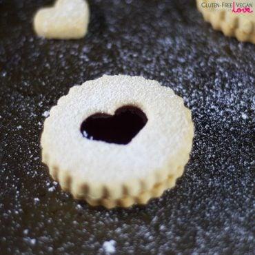 Vegan and Gluten-Free Linzer Cookies {Refined Sugar-Free}