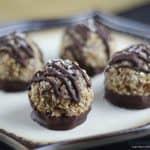 Gluten-Free Vegan German Chocolate Macaroons {with Easy Paleo & Raw Option}