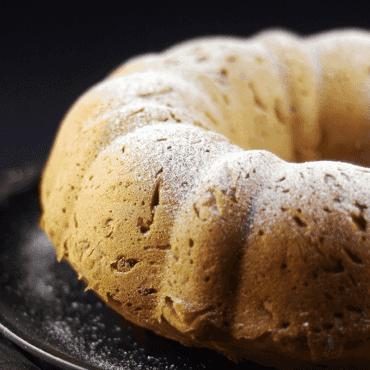 Gluten-Free Vegan Pistachio Rose Water Cake {Refined Sugar-Free}