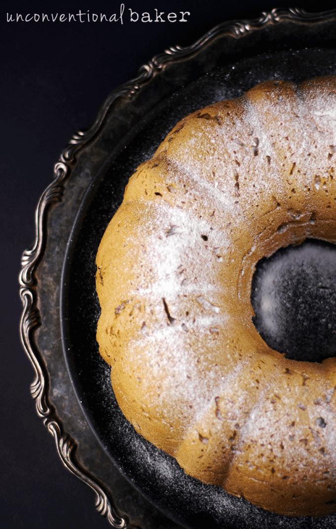 Gluten-Free Vegan Rose Pistachio cake {Refined Sugar-Free}