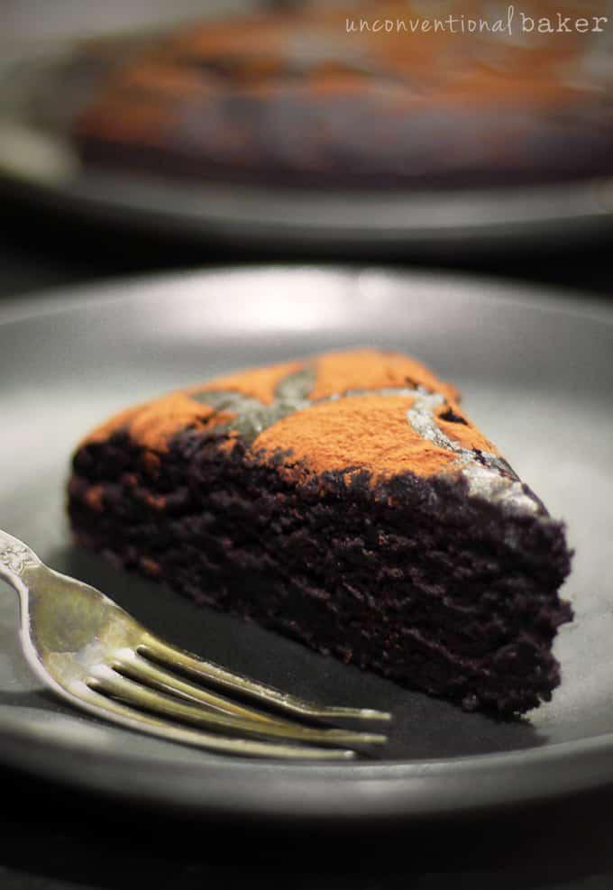 Duncan HinesStyle Chocolate Cake GlutenFree Vegan