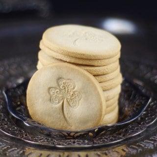 Minted St. Patrick's Day Cookies {Gluten-Free, Vegan, Refined Sugar-Free}