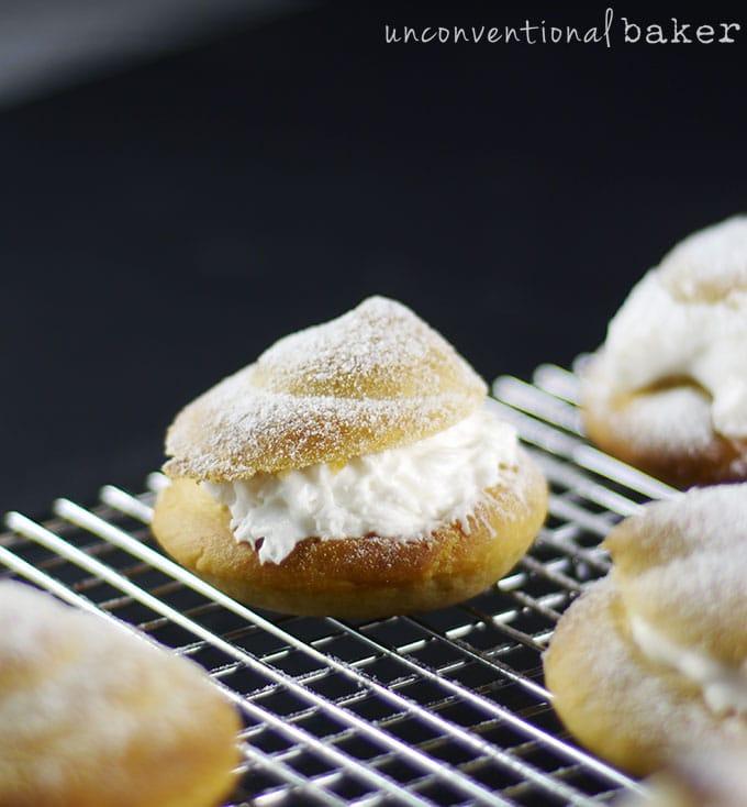 Gluten-Free Vegan Cream Puffs / Profiteroles {Refined Sugar-Free}