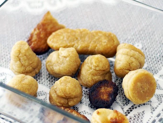 Gluten-Free Vegan Mini-Eclairs -- FAILS