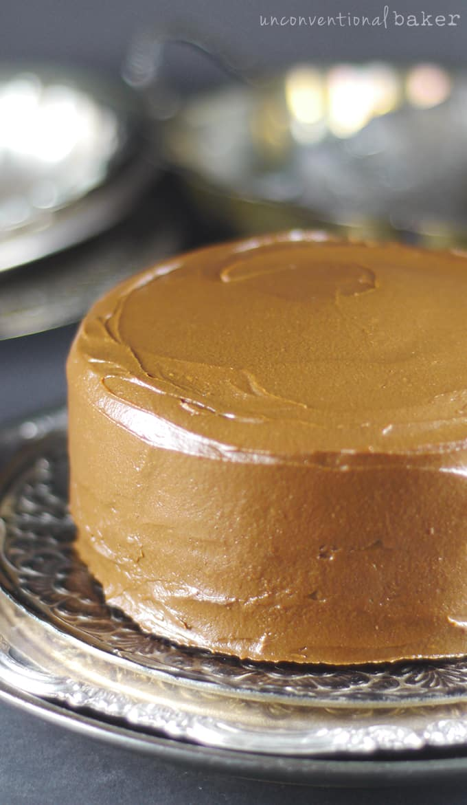 Crazy Fruity Carob Pudding Cake {Gluten-Free, Vegan, Fruit-Sweetened, Oil-Free, Nut-Free}