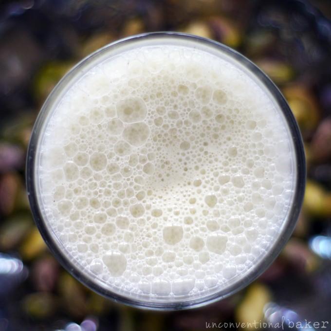 Pistachio Mylk with Rose Water {Raw, Vegan, Paleo, Gluten-Free, SCD, Refined Sugar-Free}
