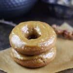 Maple Tahini Glazed Baked Donuts {Gluten-Free, Vegan, Refined Sugar-Free}