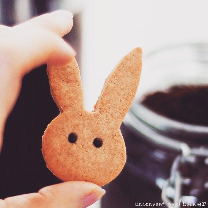 Cinnamon Bunny Cookies {Gluten-Free, Vegan, Refined Sugar-Free}