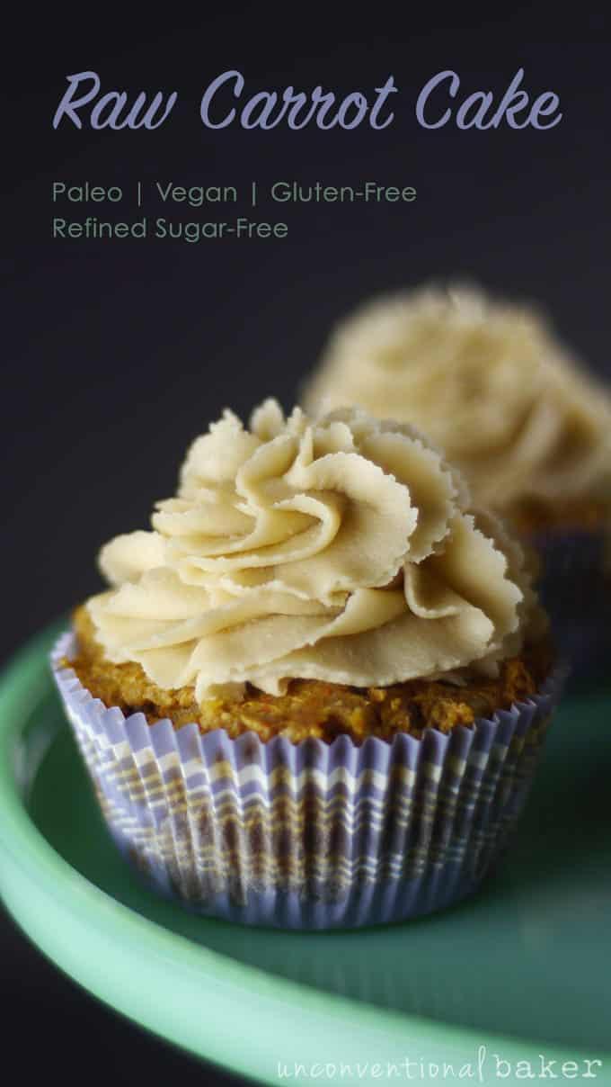 Raw Carrot Cake {Vegan, Paleo, Gluten-Free, Refined Sugar-Free, SCD}
