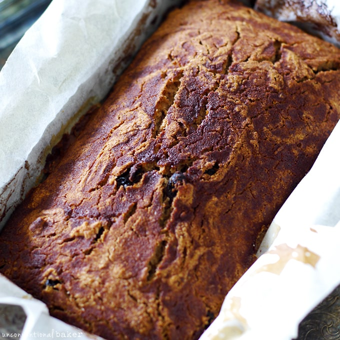 Easy Peasy Pumpkin Spice Bread Pudding -- failed raisin bread