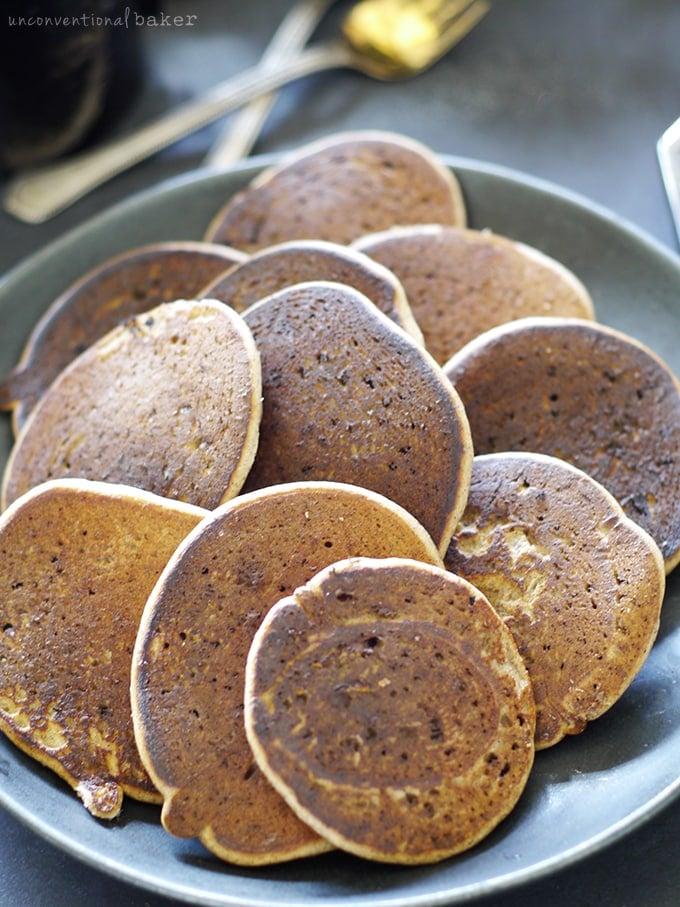 Easy 4 ingredient blender pancakes free from gluten dairy eggs easy 4 ingredient blender pancakes free from gluten dairy eggs starches ccuart Gallery
