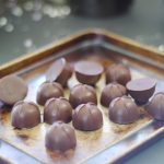 Maple Butter Chocolates (2-ingredients only & free from dairy & refined sugar)