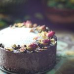 Maqui Tahini Raw Cheesecake (Free from: dairy, gluten & grains, and refined sugar)