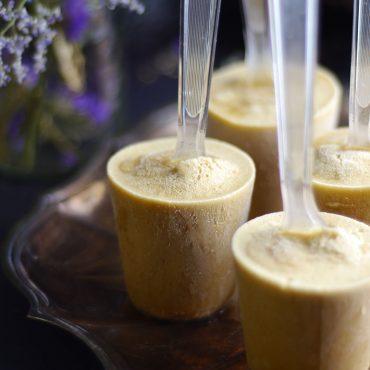 Coconut Cardamom Pops (Raw, Dairy-Free, Refined Sugar-Free)