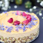 Sunflower Seed Butter Cheesecake (No-Bake & Free From: dairy, nuts, gluten & grains, refined sugar, and added oils)