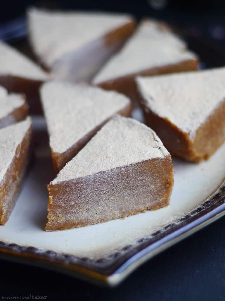 Cashew Lucuma Fudge (Free From: dairy, gluten & grains, refined sugar, added oils)