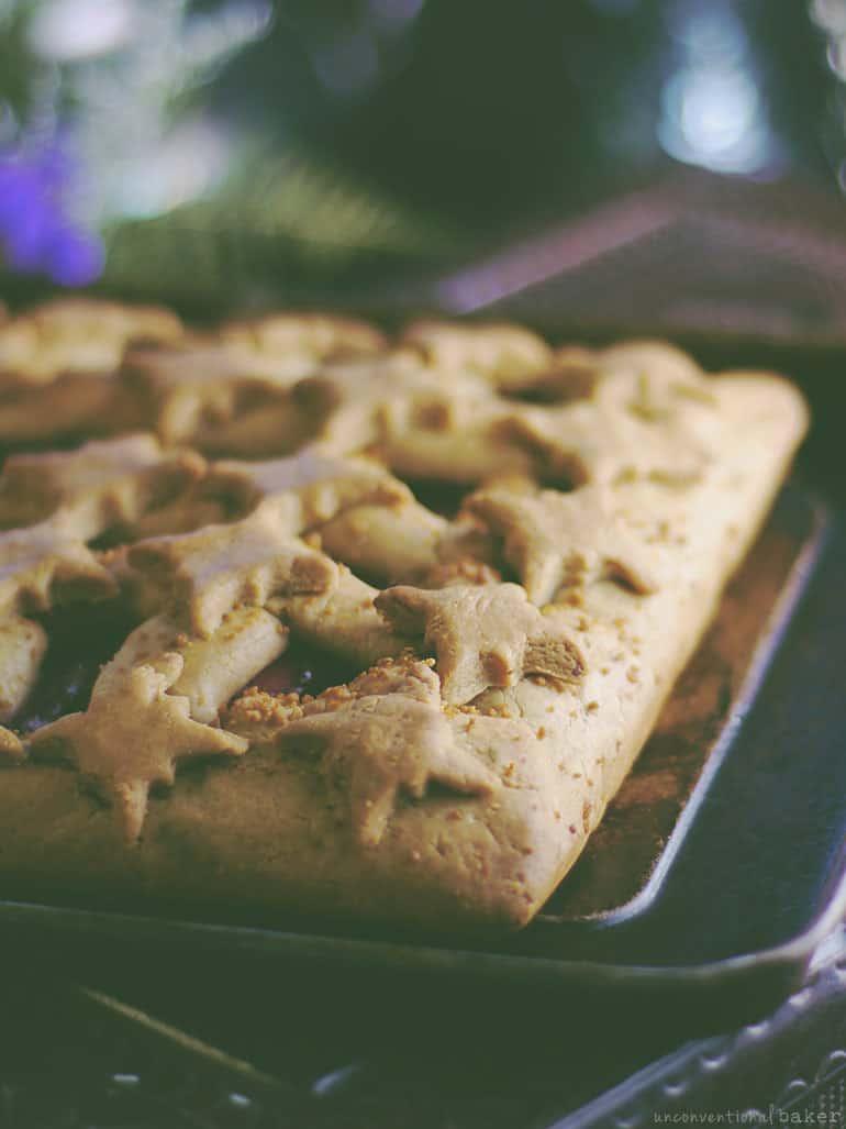 Plum Crostata (Free From: gluten, dairy, eggs, added oils, refined sugar)