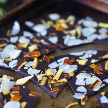 Dark Chocolate with Orange Peel (Free From: Dairy, Refined Sugar, Gluten & Grains, w/ Nut-Free Option)