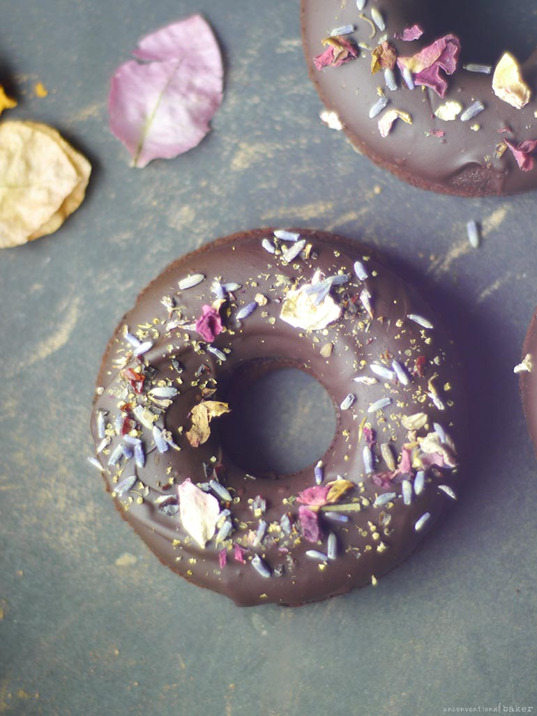 Raw Double Chocolate Donuts (Free From: gluten, grains, dairy, refined sugar)