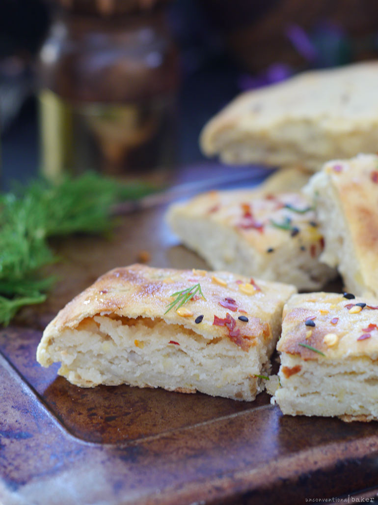 Quick Potato Bread or Pancakes (Irish Potato Farls)-- gf, vegan, oil-free