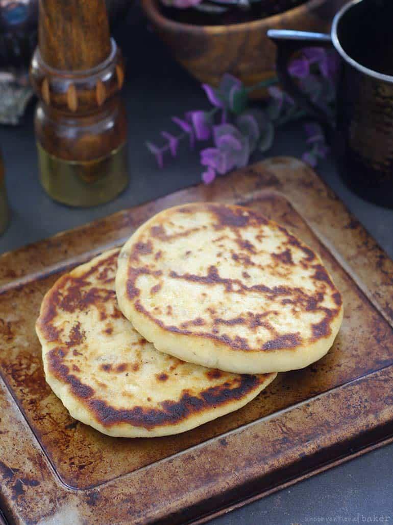 simple vegan gluten-free potato pancakes