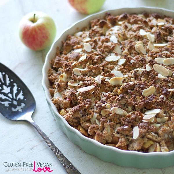 Simple Paleo Vegan And Gluten Free Apple Crisp