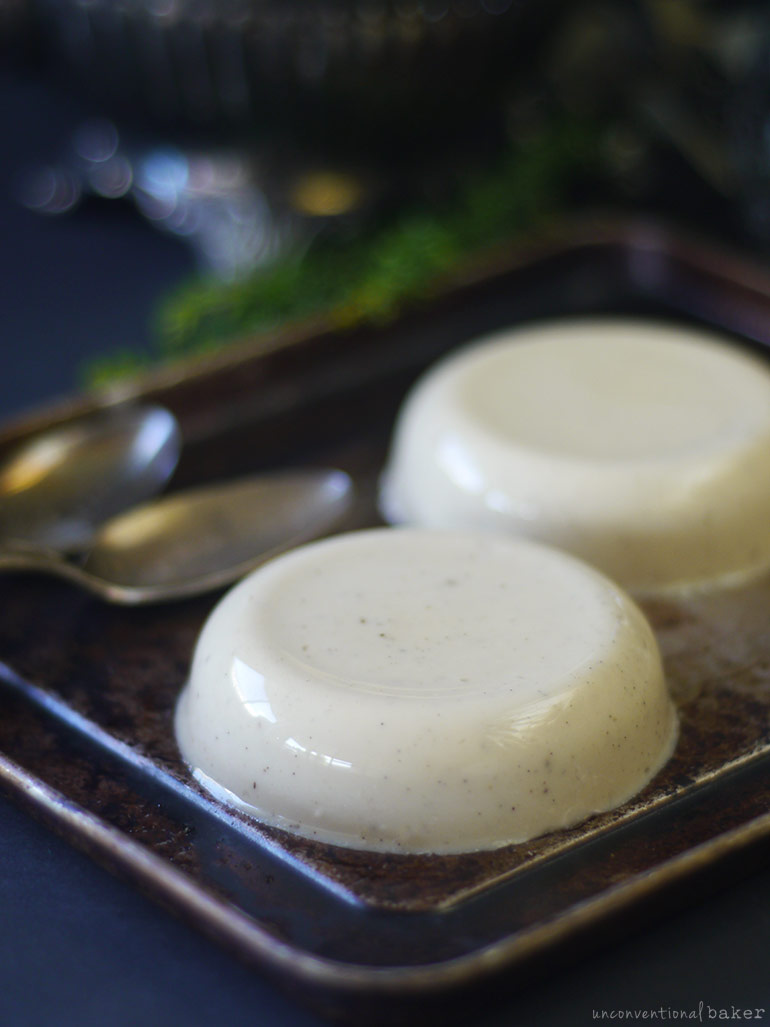 dairy-free eggless flan