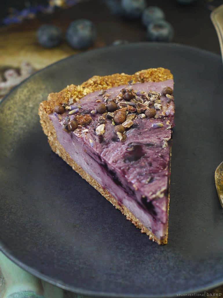 gluten-free vegan blueberry potato pie recipe