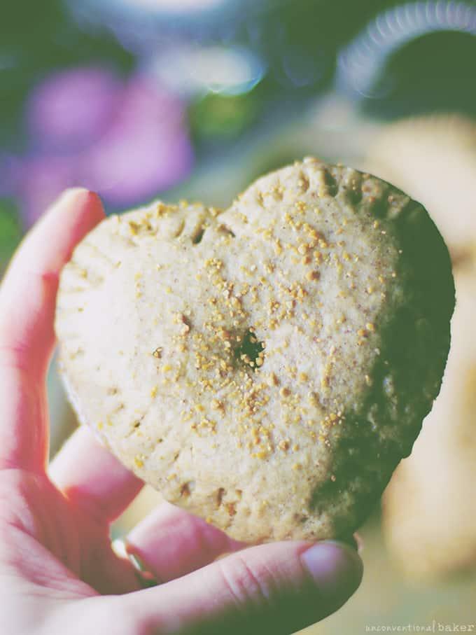 raspberry almond hand pies recipe