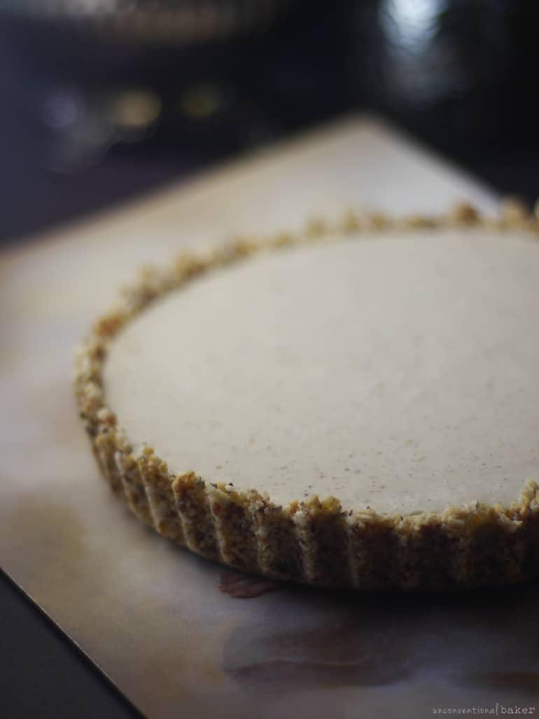 homemade vegan and oil-free coconut cream pie