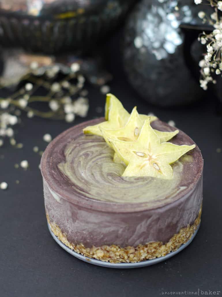 vegan starfruit dessert