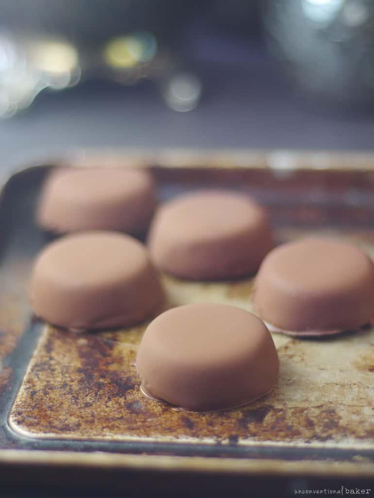 dairy-free mint chocolates